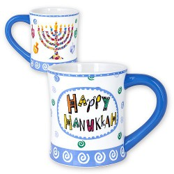 "Tasse ""Happy Hanouka"""