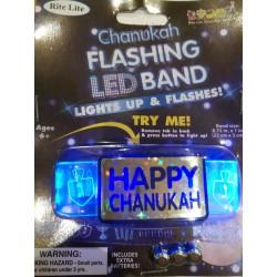 Bracelet LED Happy Hanouka