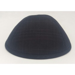 Kippa Marino black stripes