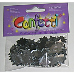 Confetti de table Maguen David - Disponible en 5 colories